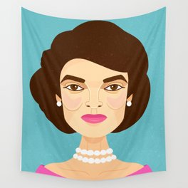 Jackie Onassis Wall Tapestry