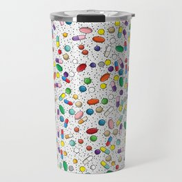 Medical Capsule Pharmacology Design Travel Mug