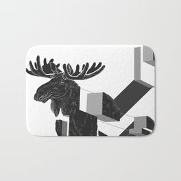 moose_deconstructed Bath Mat