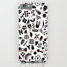 Black and white pattern Slim Case iPhone 6s