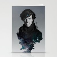 artgerm Stationery Cards featuring The Excellent Mind by Artgerm™