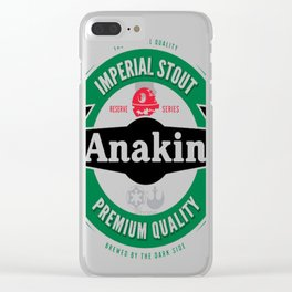 Anakin Imperial Stout B Clear iPhone Case