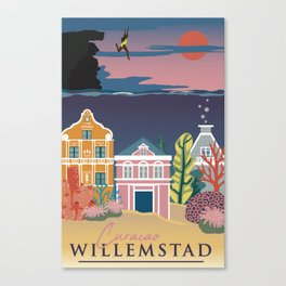 Willemstad Canvas Print