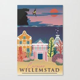 Willemstad Canvas Print