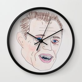 Steve Buscemi With Braces Wall Clock