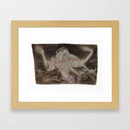 Lady G. Framed Art Print