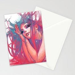 Marguerite nymphe Stationery Cards