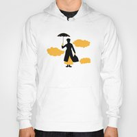 mary poppins Hoodies featuring Mary Poppins by FilmsQuiz
