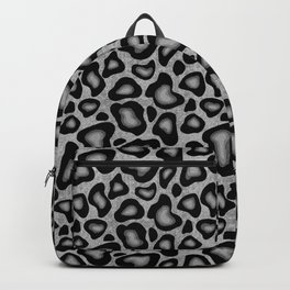 Snow Leopard Animal Print Backpack