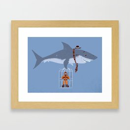 Brought My Lunch!  Framed Art Print