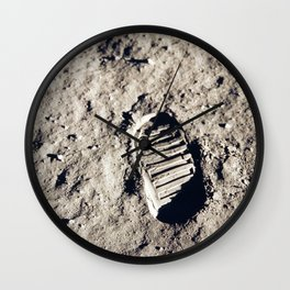 One Giant Leap For Mankind Wall Clock