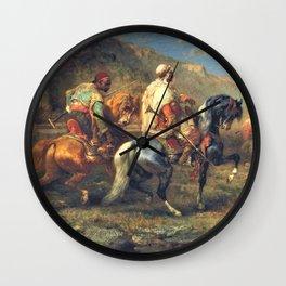 Adolf Schreyer - A La Fontaine - Digital Remastered Edition Wall Clock