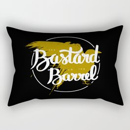 the bastard from the barrel Rectangular Pillow