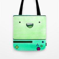 bmo Tote Bags featuring BMO by Some_Designs
