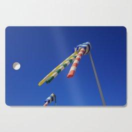 Flying Wind Socks and Blue Sky Cutting Board