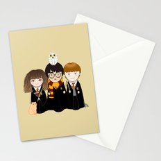 Kokeshis Hermi, Harry and Ron Stationery Cards