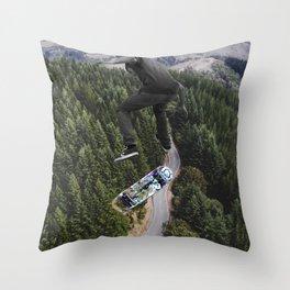 Jump higher Throw Pillow