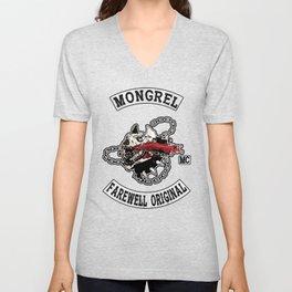 Mongrel Farewell Unisex V-Neck