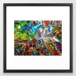 The Dance of Colour Framed Art Print