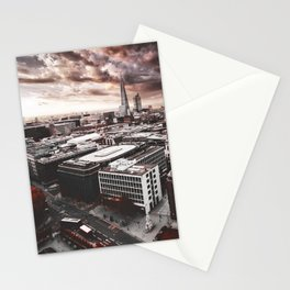 the shard in london Stationery Cards