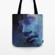 Strange Face Tote Bag