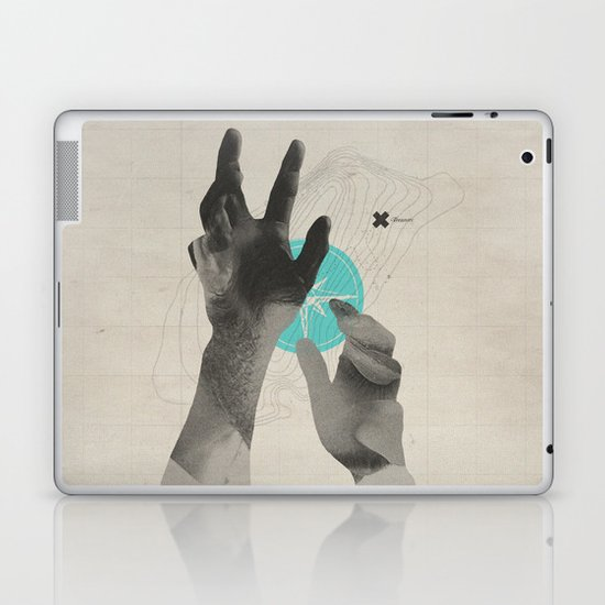 Treasure Island Laptop & iPad Skin