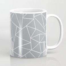 Abstraction Outline Grey Mug