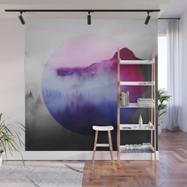 Round Ambiance Wall Mural