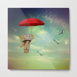 Danbo on tour Metal Print