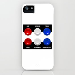 Six Buttons iPhone Case