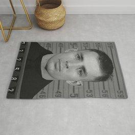 Jack Kerouac Naval Enlistment Mug Shot Rug