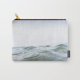 Rippling sea swell, Porthcurno, Cornwall Carry-All Pouch