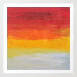 Sunrise, Sunset Art Print