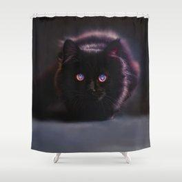 Hellcat Shower Curtain