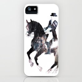 Horse (Canter pirouette II) iPhone Case