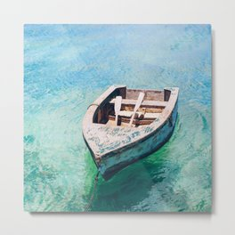 Boats of Anguilla Metal Print