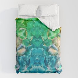 Awesome Lava Rock Explosion Duvet Cover
