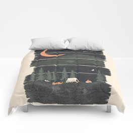 Wish I Was Camping... Comforters