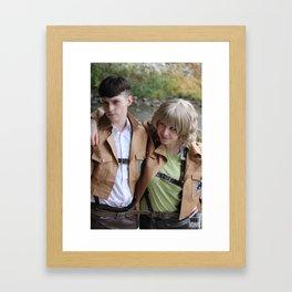 20151024 HiLow, Persuasion Framed Art Print