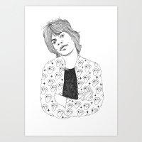 Mick  Art Print