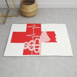 Hospital Nurses Gift for Operating Room Nurse Design Rug