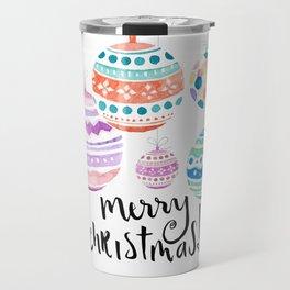 Christmas Ornament Travel Mug