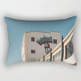 Venice Beach Boardwalk Rectangular Pillow