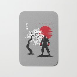 Cherry Tree fighter Bath Mat