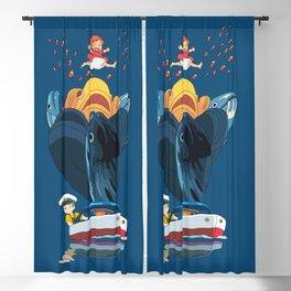 Ponyo Blackout Curtain