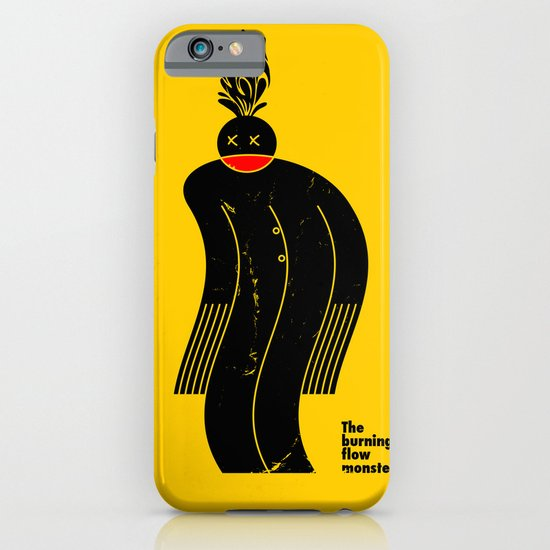The Burning Flow Monster iPhone & iPod Case