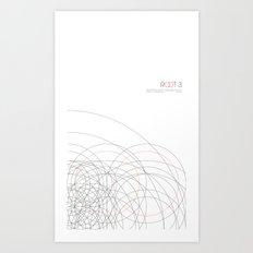 ROOT 3 Art Print