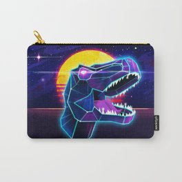 Electric Jurassic Rex - Dominate the Planet Carry-All Pouch