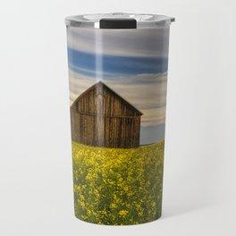 Dazzling Canola in Bloom Travel Mug