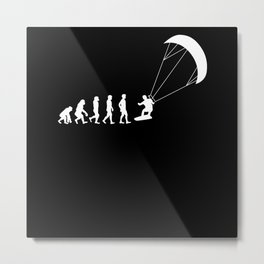 Evolution Kite Surf Metal Print